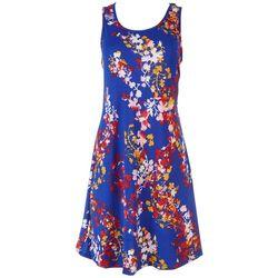 Lexington Avenue Womens Pop Up Color Dress
