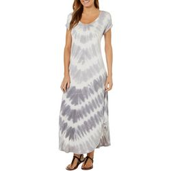 CG Sport Womens Tie Dye Maxi Dress