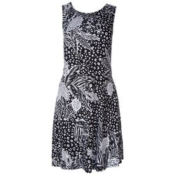 Cupio Womens Bicolor Sleeveless Dress