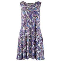 Cupio Womens Butterflies Dress