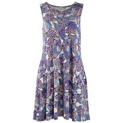 Womens Butterflies Dress