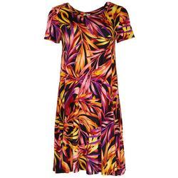 Womens Multicolor Casual Dress