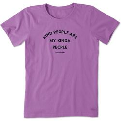 Life Is Good Womens Kind People Crusher T-Shirt