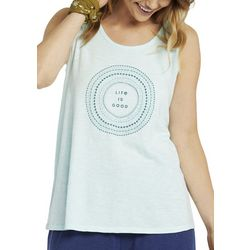 Life Is Good Womens Marine Mandala Breezy Tank Top