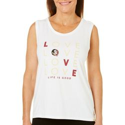 Life Is Good Womens Florida State Classic Fit Tank Top