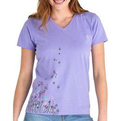 Life Is Good Womens Crusher Wildflower Breeze T-Shirt