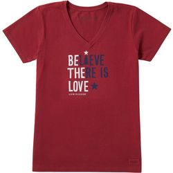 Life Is Good Womens Be The Love Crusher