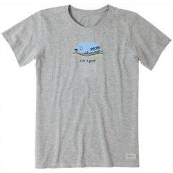 Life Is Good Womens Windsurf Vista T-Shirt