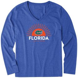 University Of Florida Womens Sun T-Shirt By Life Is Good
