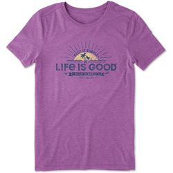 Life Is Good Womens Keep It Salty Cool T-Shirt