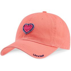 Life Is Good Womens Heart Tattered Chill Baseball Hat