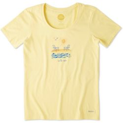 Life Is Good Womens Let's Sea Crusher T-Shirt