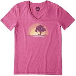 Life Is Good Womens Simplify Outside Cool T-Shirt