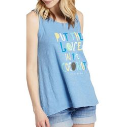 Life Is Good Womens Put The Love In The Coconut Tank Top