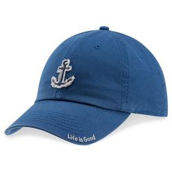 Life Is Good Womens Anchor Tattered Baseball Hat