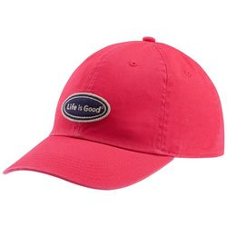 Life Is Good Womens LIG Oval Chill Baseball Cap