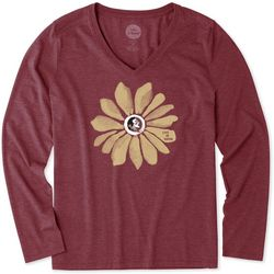 Florida State Womens Floral Long Sleeve Top By Life Is Good