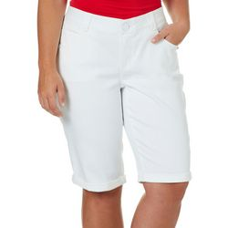 Democracy Plus Ab-solution Roll Cuff Bermuda Shorts