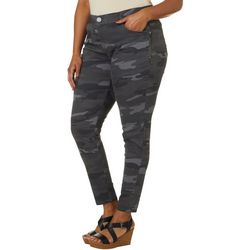 Democracy Plus Camo Side Zip Pants