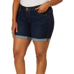 Democracy Plus Ab-solution Roll Cuff Denim Shorts