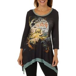OneWorld Womens You Say Witch Like It's A Bad Thing Top