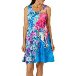 Leoma Lovegrove Petite Poseidon 3-Ring Sundress