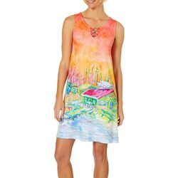 Leoma Lovegrove Petite Picnic 3-Ring Sundress