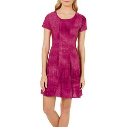 Sami & Jo Petite Tie Dye Sequin Gomez Dress