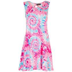 Allison Brittney Petite Hippie Casual Dress