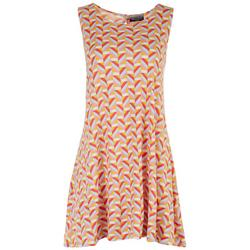 Petite Geometric Sun Dress