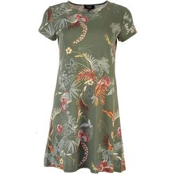 MSK Petite Into The Wild T-Shirt Dress