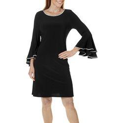 MSK Petite Embellished Bell Sleeve Dress