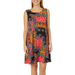 Allison Brittney Petite Status Print Sundress