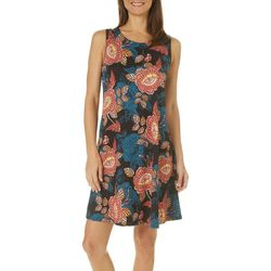 Allison Brittney Petite Vibrant Floral Sundress