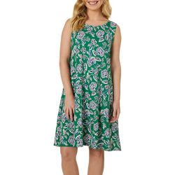 Allison Brittney Petite Floral Bloom Sleeveless Sundress