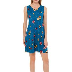 Allison Brittney Petite Floral Dot Sundress