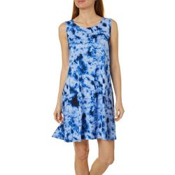 Allison Brittney Petite Tie Dye Yummy Swing Dress