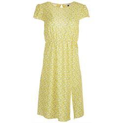 Petite Italian Lemon Dress