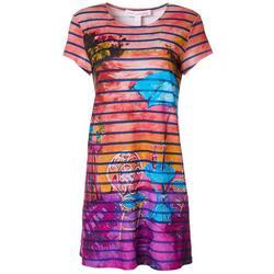 Petite My Relaxing Place T-Shirt Dress