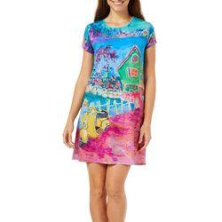 Leoma Lovegrove Petite Matlacha Island Dress