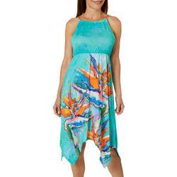 Leoma Lovegrove Petite Local Color Chain Halter Sundress