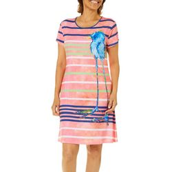 Leoma Lovegrove Petite Blue Bird Sundress