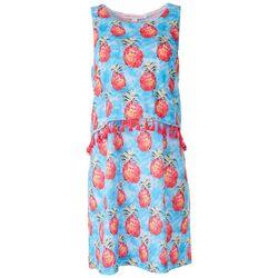 Leoma Lovegrove Petite Pinapple Tassle Sleevless Dress