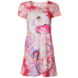 Leoma Lovegrove Petite Seahorse T-Shirt Dress