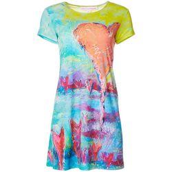 Leoma Lovegrove Petite Heart T-Shirt Dress