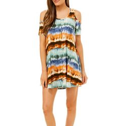 Lexington Avenue Petite Stripe Tie Dye Sundress