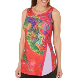 Leoma Lovegrove Womens Seahorse Soiree Sleeveless Top