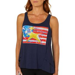 Leoma Lovegrove Womens Forever Flag Tank Top