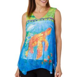 Leoma Lovegrove Womens Got Your Back Mesh Sleeveless Top