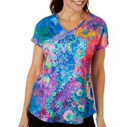 Leoma Lovegrove Womens Poseidon Seahorse Dolman T-Shirt